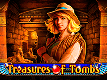 игровой автомат Treasures Of Tombs / Сокровища Гробницы